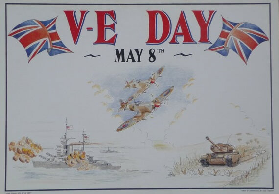 REMEMBERING  VE DAY